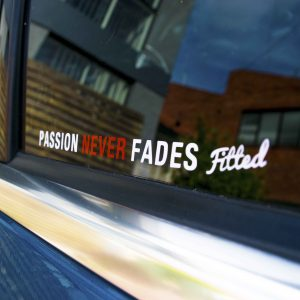 Passion Never Fades Stickers